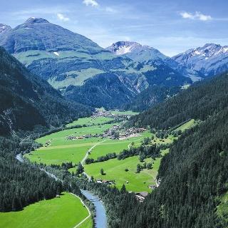 Dorf mit Pimig