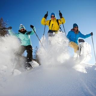 Schneeschuhwandern Davos Klosters
