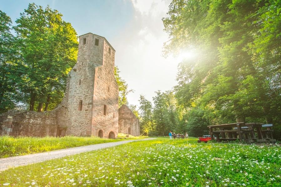 Von Wünschelruten und Wallfahrten - Vom Kurpark Waldbronn bis zur Ruine St. Barbara
