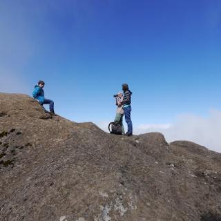 Auf dem Pico Grande