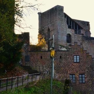Ruine Spangenberg,