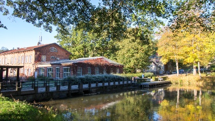 Fiskars Village gives a sight into the old ironwork