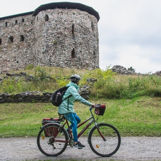 You can join a guided tour into Raasepori Castle