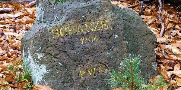 """Ritterstein Nr. 6 """"Schanze 1704"""""""