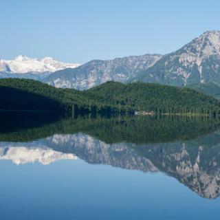 Abmarsch am Altausseersee