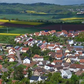 Münchweiler von der Hohlsteinhütte