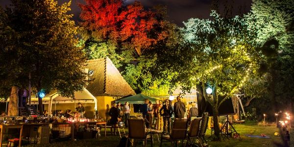 Veranstaltung im Weingut Aust