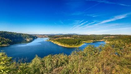 """Aussichtspunkt """"Rotestein"""" in der Nähe von Hasselfelde"""