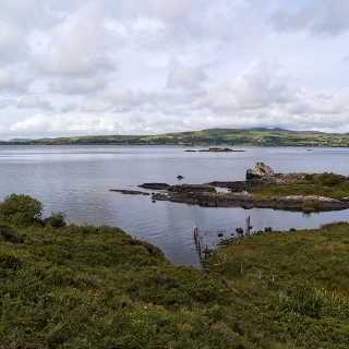 Lough Currane near Waterville