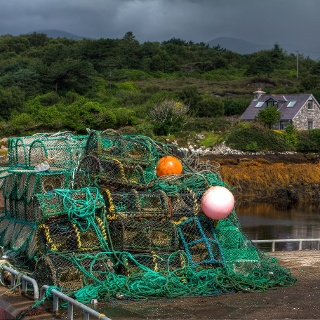 Fishing Pots in Sneem