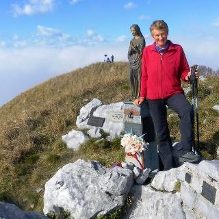 Monte Cuar: Gipfelmadonna
