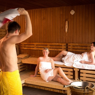 Sauna in der Silber-Therme-Warmbad