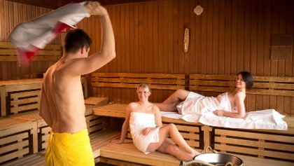 Sauna in der Silber-Therme-Warmbad