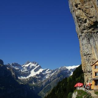 Berggasthaus Aescher-Wildkirchli.
