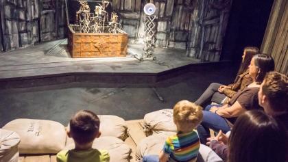 Mechanisches Rattenfänger-Theater