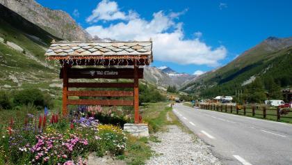 Arrivée à Val d'Isère