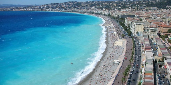 Coastline of Nice