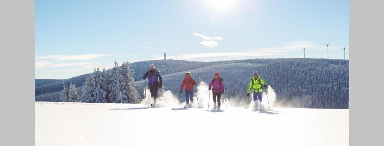 Winterzeit im Erzgebirge-Schneevergnügen in zauberhafter Kulisse
