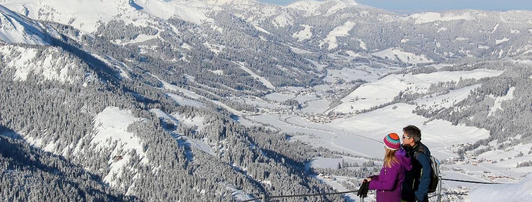Tannheimer Tal im Winter