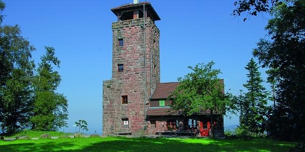 Aussichtsturm des Höhengasthauses Teufelsmühle