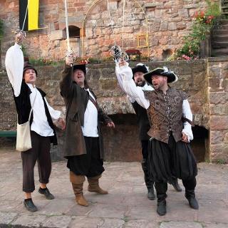 Die drei Musketiere 2017_ Bildrechte Burgspielgeme