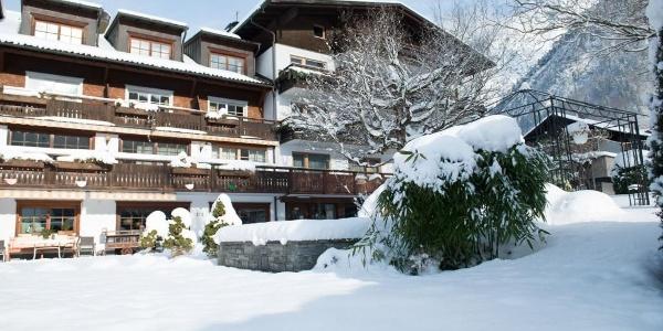 Garten und Hotel