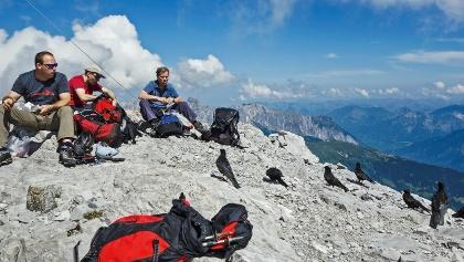 Auf dem Gipfel der Sulzfluh.