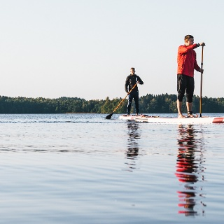 Hanko is a perfect place for stand-up paddling