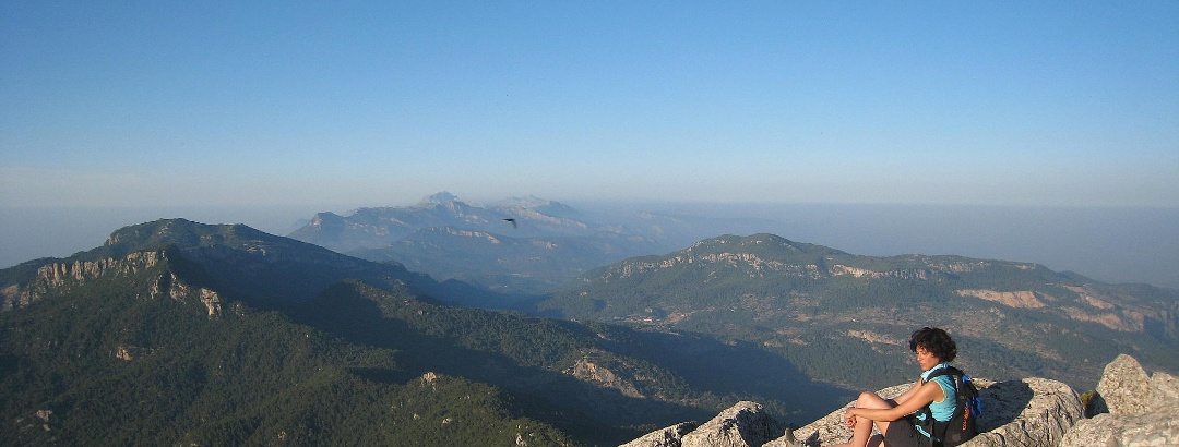 Viewpoint at Piug de Galatzó