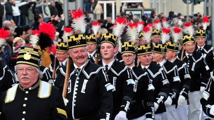 Bergparade in Annaberg-Buchholz