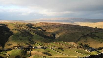 Views of Swaledale from Kisdon Hill
