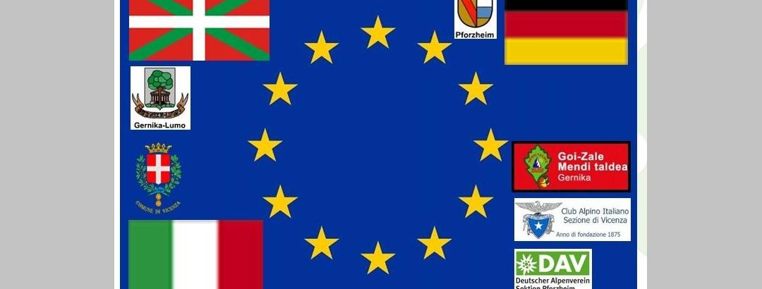 Die Partnerstädte Gernika-Lumo - Vicenza - Pforzheim