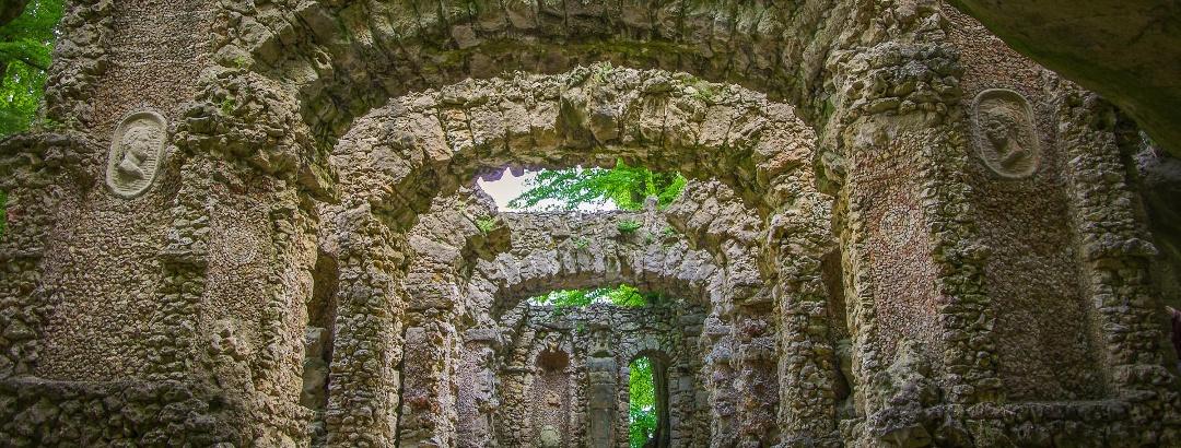Ruinentheater im Felsengarten Sanspareil