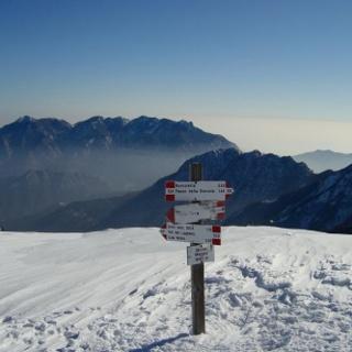 La vetta del monte Maggio