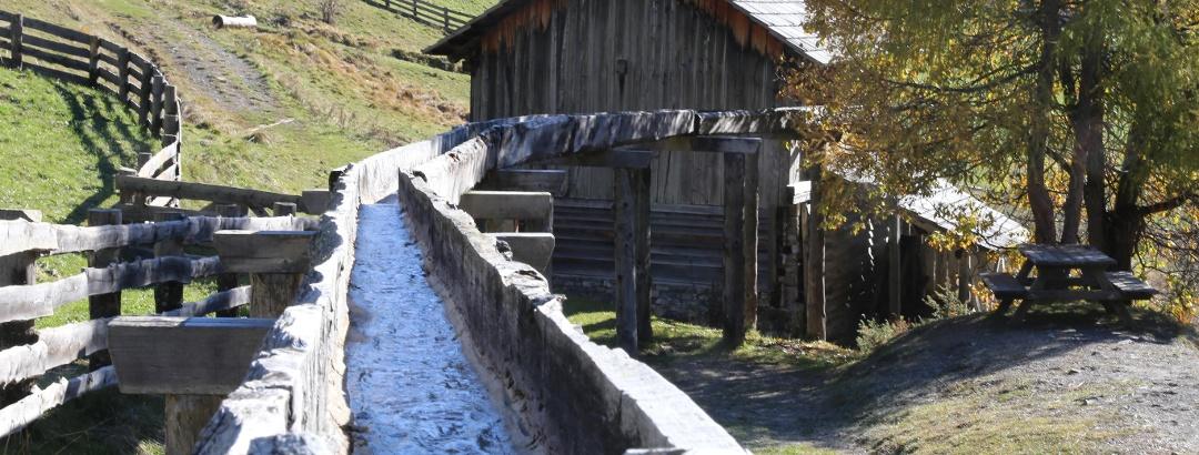 Zufluss zur Mühle