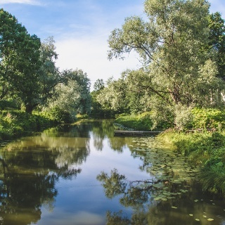 The wonders of nature along the cycling route