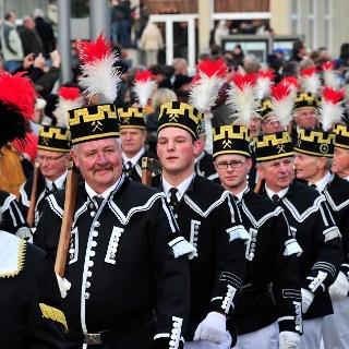 Abschlussbergparade Annaberg-Buchholz