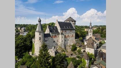 Luftbild Burg Stolberg