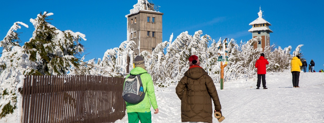 Winterwandern in Oberwiesenthal