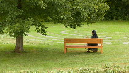 Entspannen im Kloster