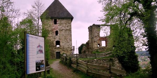 Burgruine Ligist_Brücke