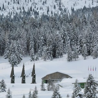 Base Tuono in versione invernale