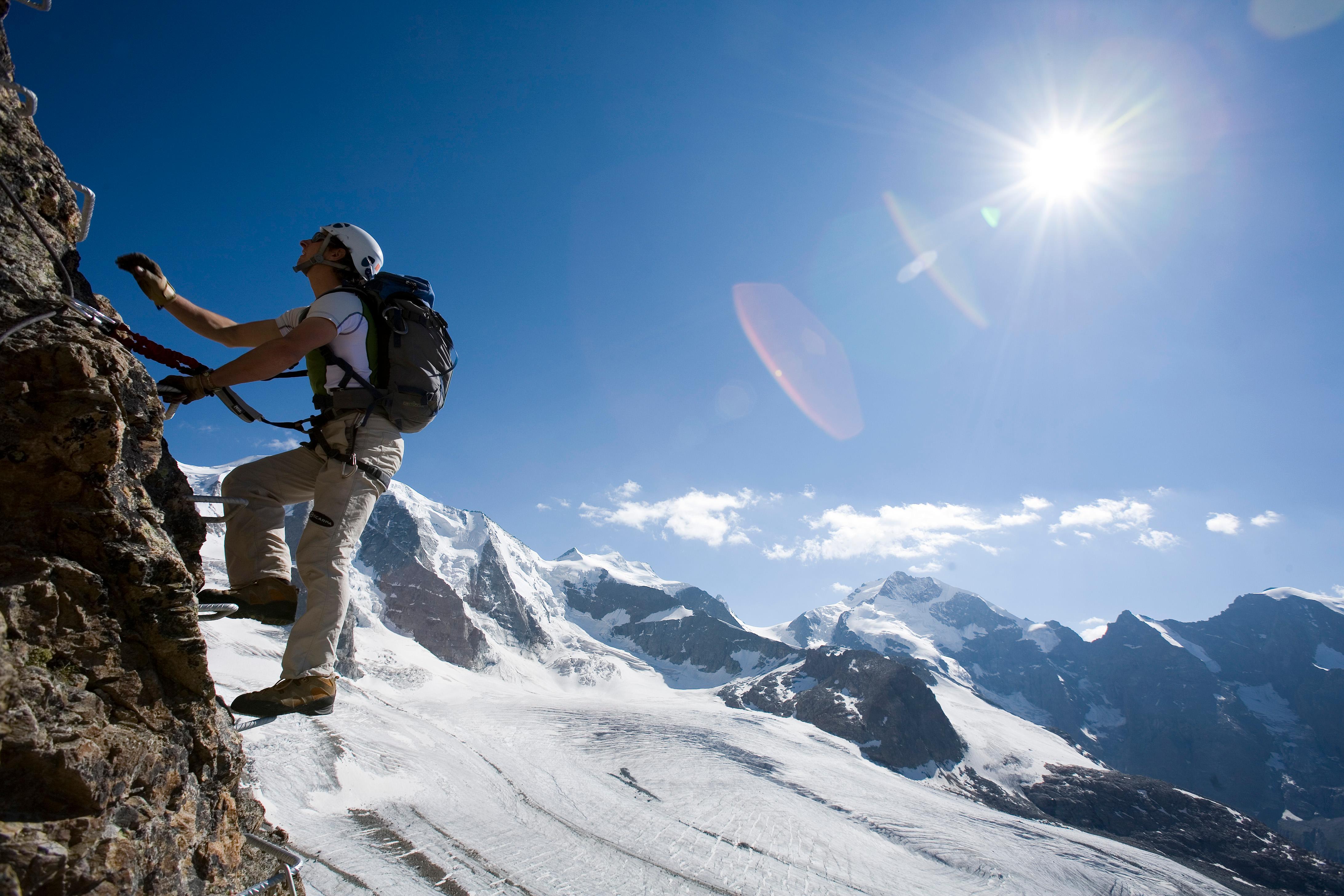 Klettersteig Schweiz : Die schönsten klettersteige in der schweiz