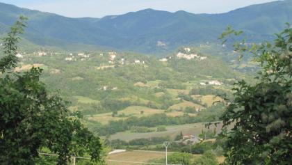 Landschaft auf Weg zum Lago di Medioglio