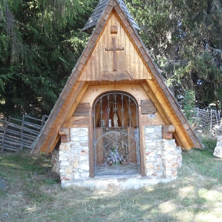 Hubertuskapelle bei der Unterauerlingerhütte