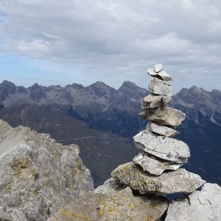 Gipfel Karlesspitze