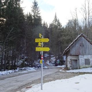 Start der Tour bei der Stouhütte