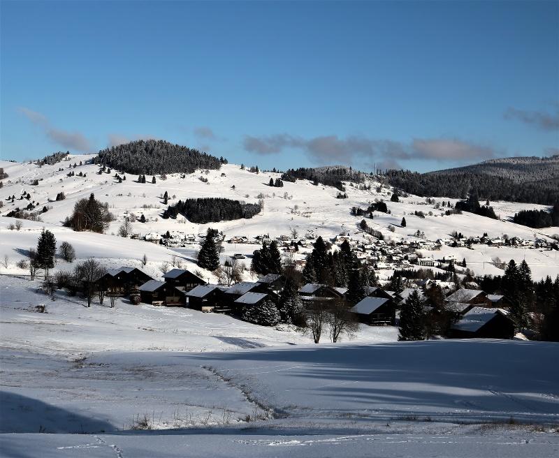 Winter - Bernau Schwarzwald: Oren-Loipe
