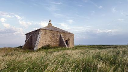 Chapel on St Aldhelm's Head