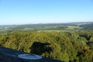 Aussicht von der Vulcano Infoplattform (Foto: Sarah Schmitz, Quelle: Eifel Tourismus GmbH)